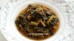 Kıymalı Ispanak Yemeği ( 8 ay ve üzeri )