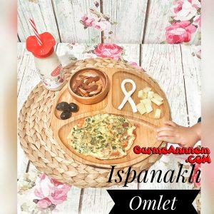 - ispanakli omlet 1yasveuzeri 300x300 - Ispanaklı Omlet (1 yaş ve üzeri )