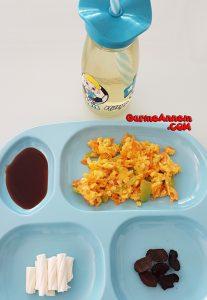 - havuclu biberli omlet 1yasveuzeri 207x300 - Havuçlu Biberli omlet ( 1 yaş ve üzeri )