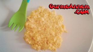 Balkabaklı Omlet ( +7 Ay )