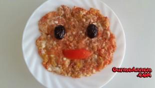 Bol vitaminli Omlet ( 12 Ay )