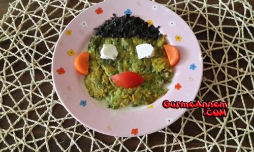Kabaklı Omlet ( +7 Ay )