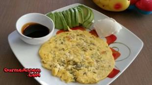 Ruşeymli Semizotlu Omlet ( +8 Ay )