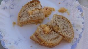 Şeftalili Tost
