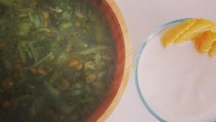 Maş Fasulyeli Brokoli Çorbası (+12 Ay)