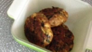 Avokado ve ıspanaklı köfte (+8 )