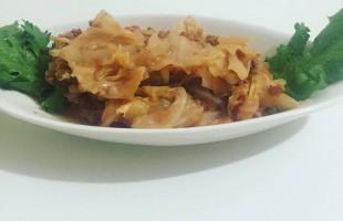 Kıymalı Lahana yemeği ( 1 yaş ve üzeri )