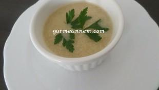 Bulgurlu Mantar  Çorbası ( 1 yaş ve üzeri )