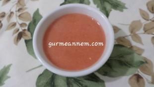 Sebzeli Kırmızı Pancar Çorbası ( 9 Ay ve üzeri )