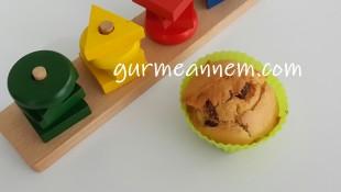 Bebeklere Kuru Üzümlü Muffin ( 1 yaş ve üzeri )