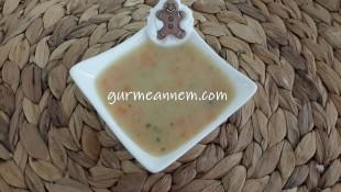 Kıymalı Sebze Çorbası ( +7ay ve üzeri