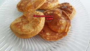 Ballı Bademli Pankek ( 1 Yaş ve üzeri )