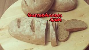 Ev yapımı tam buğday ekmeği ( 8 ay ve üzeri )