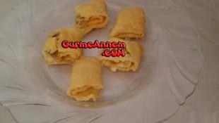 Ruşeymli Peynirli omlet ( 8 ay ve üzeri )
