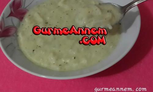 Yoğurtlu Erişte Çorbası ( 8 ay ve üzeri )