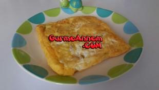 Ruşeymli Peynirli omlet ( 1 yaş ve üzeri )