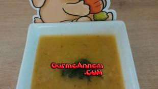 Sebzeli Kereviz Çorbası(1 yaş ve üzeri )