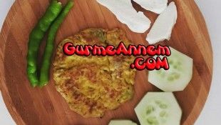 Avokadolu omlet ( 8 ay ve üzeri )