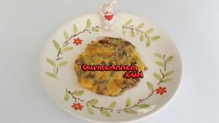 Kıymalı Dereotlu Omlet (1 yaş ve üzeri )