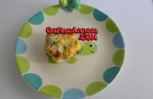 Yumurtalı Peynirli Muffin (+10 ay ve üzeri )