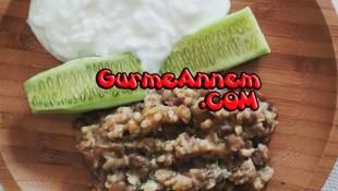 Sebzeli Yeşil Mercimek Pilavı ( 9 ay ve üzeri )