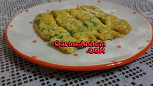 Dereotlu Peynirli Omlet ( 8 ay ve üzeri )