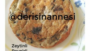 Zeytinli Çörek Otlu Omlet (1 yaş ve üzeri )