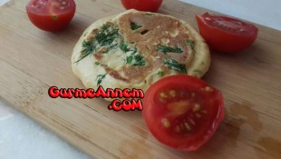 Dereotlu peynirli pankek ( 8 ay ve üzeri )