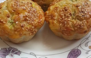 Kabaklı Muffin ( 1 yaş ve üzeri )