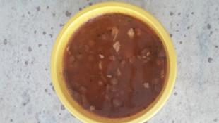 Cevizli Yeşil Mercimek Çorbası (12 ay ve üzeri )