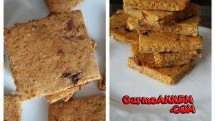 Unsuz ve şekersiz bisküvi( 1 yaş ve üzeri)