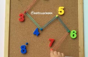 Sırayla sayılara geçirilen lastikler
