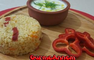 Sebzeli Bulgur Pilavı (8 ay ve üzeri)