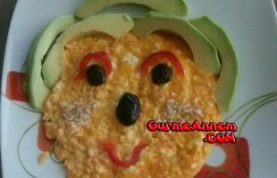 Bebeklere Sebzeli Omlet (1 Yaş ve üzeri)