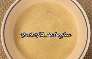 Tavuk suyu çorbası  ( 8 ay ve üzeri )