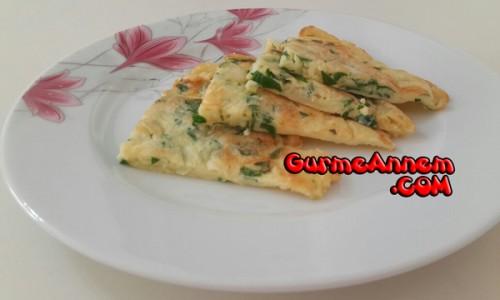 Maydanozlu Peynirli Omlet (1 yaş ve üzeri )