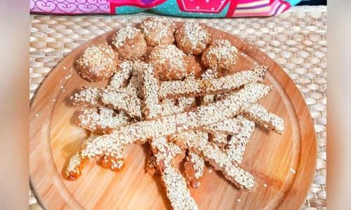 Susamlı kraker ve kurabiye ( 1 yaş ve üzeri )