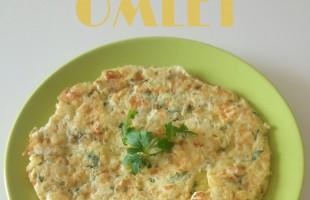 Otlu Patatesli Omlet ( 1 yaş ve üzeri )