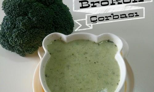 Labneli Brokoli Çorbası ( 8 ay ve üzeri )