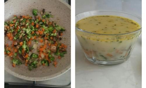 Kremalı Sebze Çorbası ( + 12 ay ve üzeri )