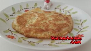 Besleyici Tahinli Omlet ( 1 yaş ve üzeri )