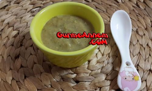 Brokolili Sebze Çorbası ( 8 ay ve üzeri )