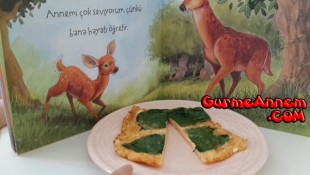 Ispanaklı Omlet ( 1 yaş ve üzeri )