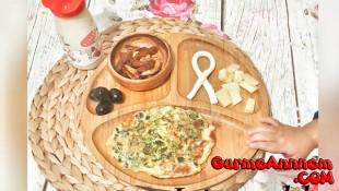 Ispanaklı Omlet (1 yaş ve üzeri )