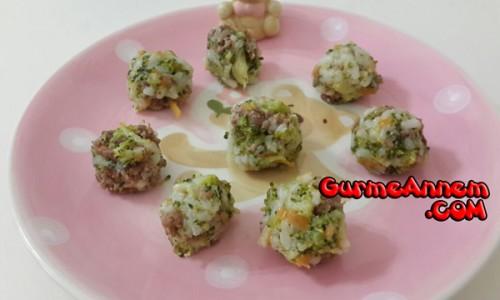 Pirinçli Brokoli Topları ( 1 yaş ve üzeri )
