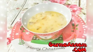 Sütlü Mantar Çorbası ( 1 yaş ve üzeri )