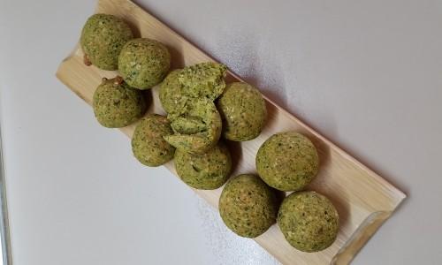 Brokolili toplar ( 1 yaş ve üzeri )