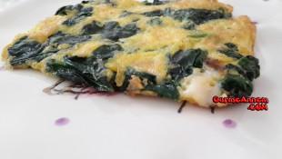 Ispanaklı Kaşarlı Omlet (1 yaş ve üzeri )