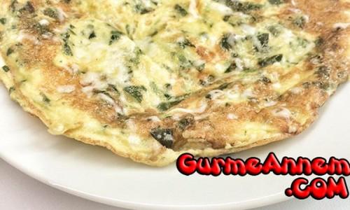 Peynirli Ispanaklı Omlet ( 1 yaş ve üzeri )