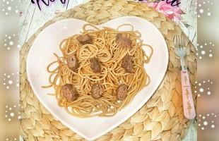 Köfteli Spagetti ( 1 yaş ve üzeri )